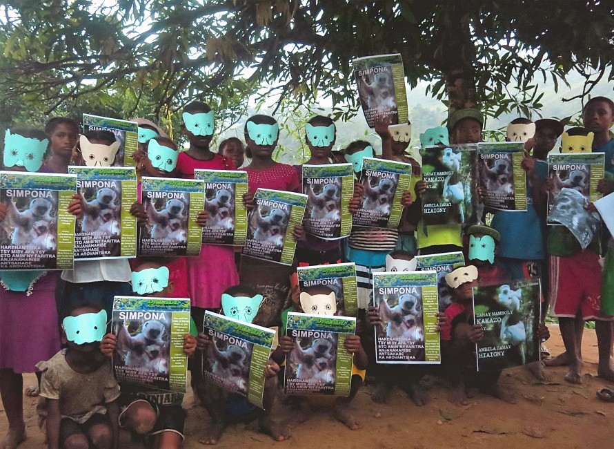 Fête for the Silky Sifaka