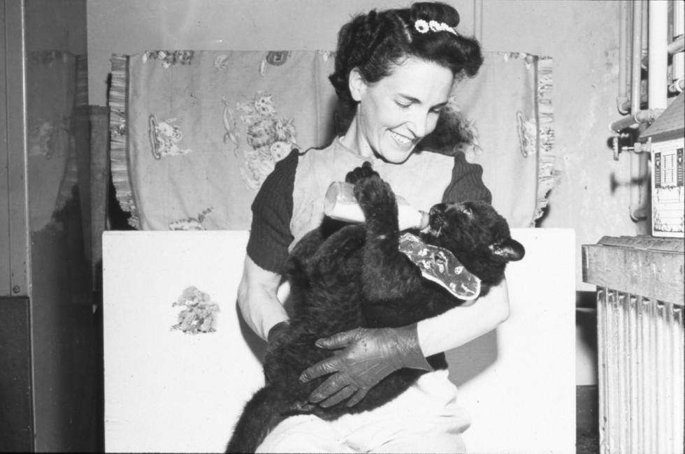 Helen Martini and Her Bronx Zoo Family