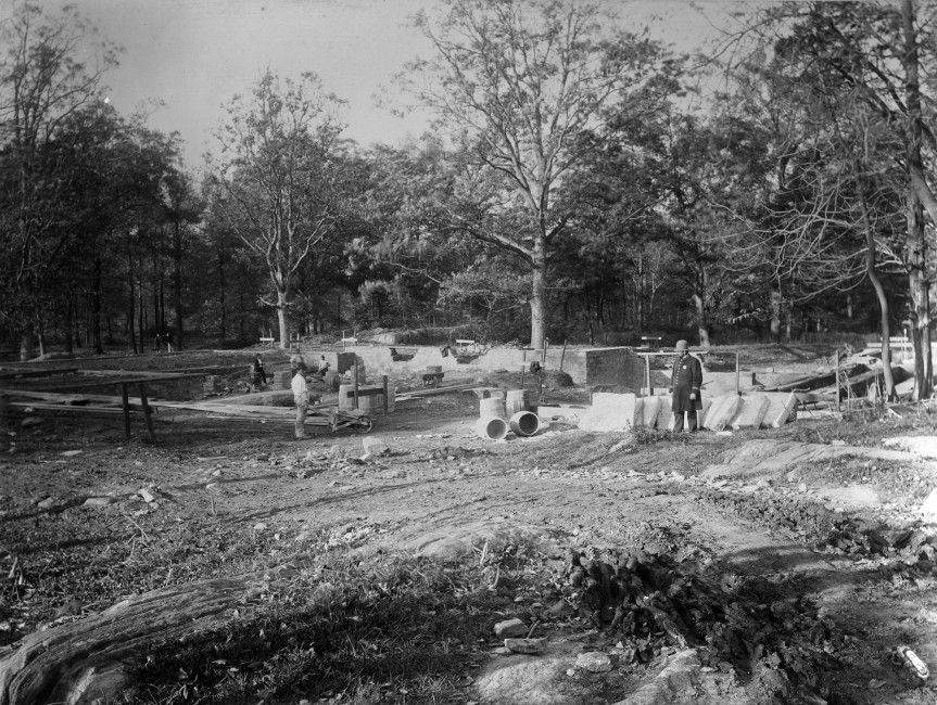 Bronx Zoo's Reptile House with Italian Foundations