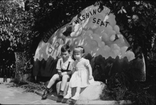 Children's Wishing Seat at the Bronx Zoo