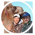 Peter Zahler and Buuveibaatar Bayarbaatar