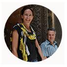 Sarah Markes and Tim Davenport